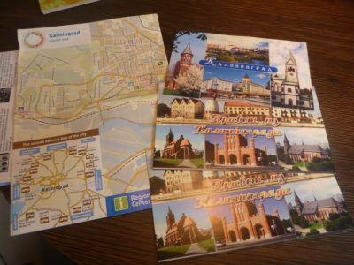 Postcards and maps of Kaliningrad city