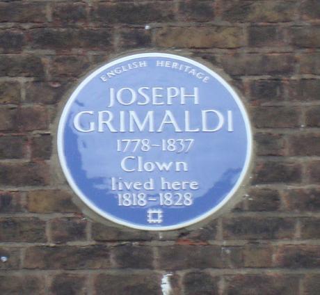 #plaque366 Joseph Grimaldi