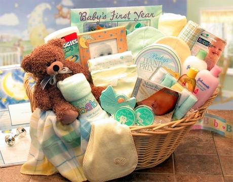 Baby Gift Basket Practical Ideas