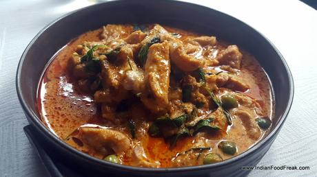Chicken in Panang curry
