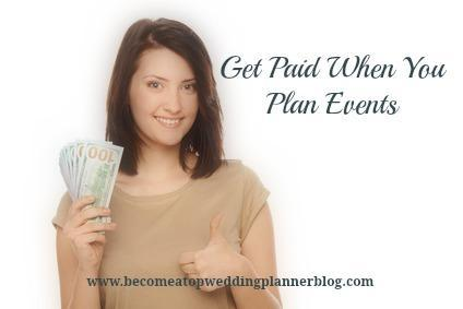Get Paid to Plan Events