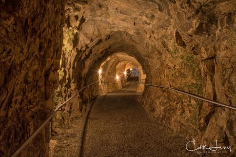 Israel, Rosh Hanikra, grotto, path, tunnel, long exposure, travel photography, nature