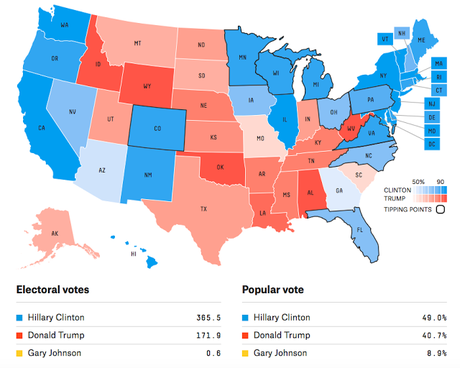 Three New Electoral College Maps Heavily Favor Clinton