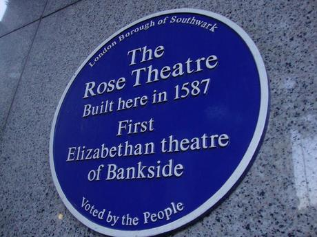 #plaque366 The Rose Theatre