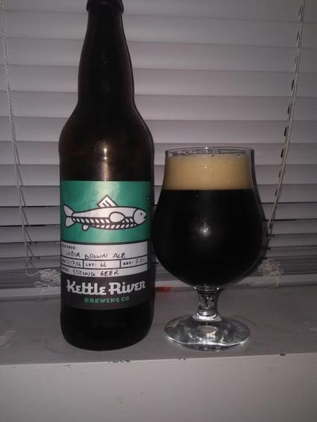 India Brown Ale – Kettle River Brewing Co