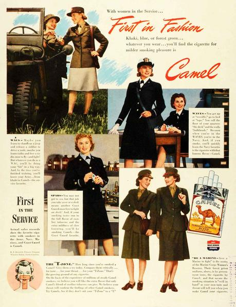 1940s-Fashion---Cigarettes-and-the-Slim-Silhouette---Camel2