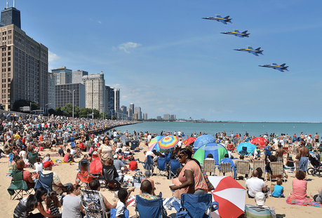 The Chicago Air and Water Show is Flying Into Town this Weekend