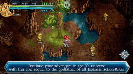 Ys Chronicles II- screenshot thumbnail