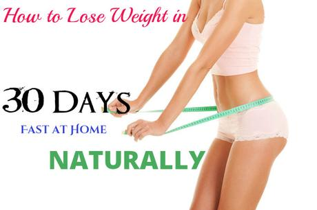 How Lose Weight in 30 Days