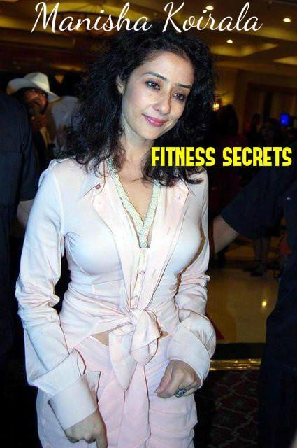 Manisha Koirala Fitness