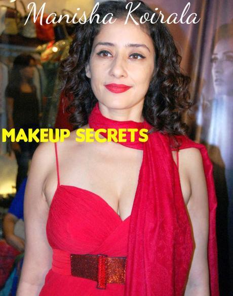 Manisha Koirala Makeup Secrets