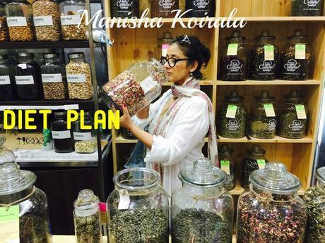 Manisha Koirala Diet Plan