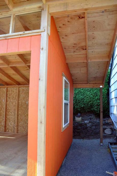 Cedar Lee Art Studio under construction