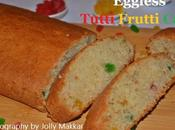 Eggless Tutti Frutti Cake Recipe, Make Semolina