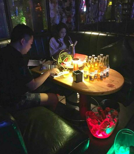 Drinks in Xi'an China