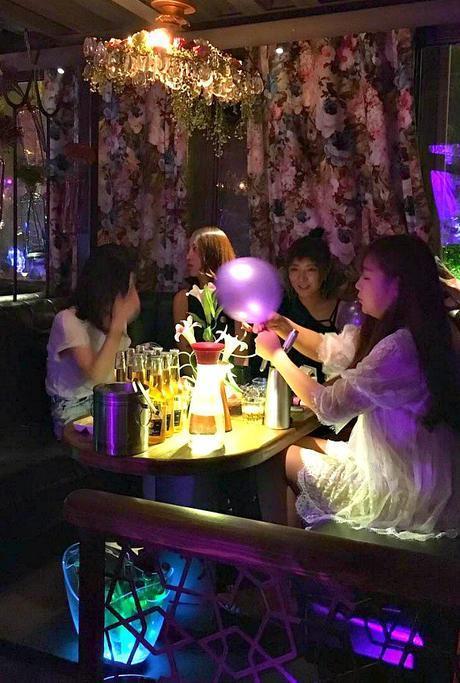 Using Nitrous Oxide in a bar