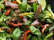 Lime Beef Basil Stir (Cookbook Preview)