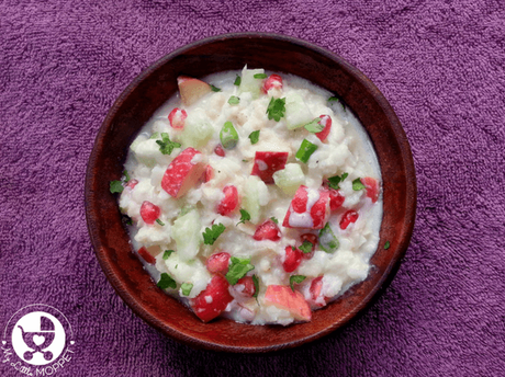 Gopalkala Recipe (Brown Rice Flakes in Yogurt)