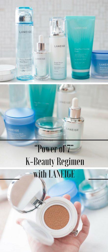 """""""Power of 7"""" K-Beauty Regimen with LANEIGE"""