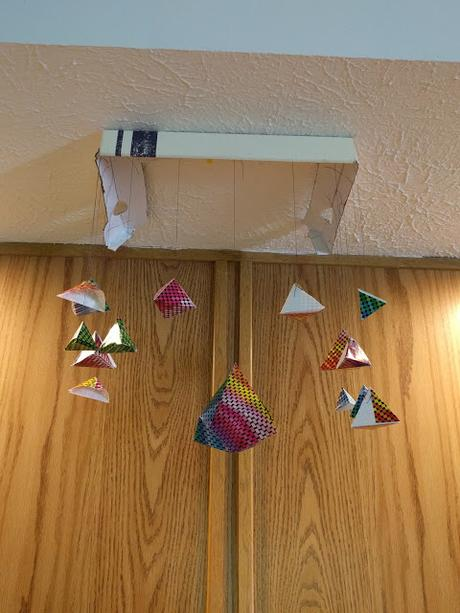 3D Origami Wall Hanging