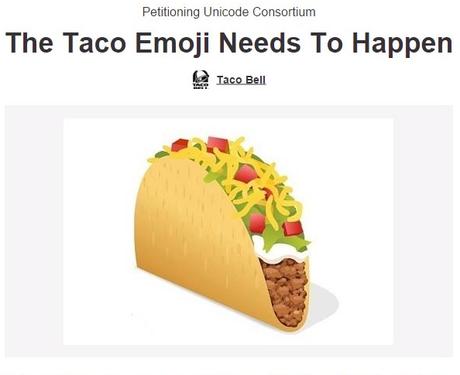 How to use emoji: Taco Bell emoji