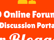 Online Forums Discussion Portals Bloggers