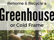 Rehome Recycle Greenhouse Cold Frame