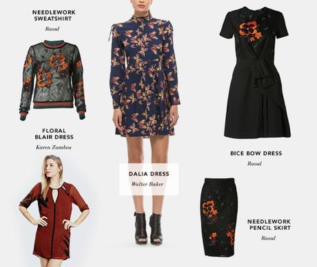 skater skirt, pencil skirt, maxi dress, floral, wool, shift dress