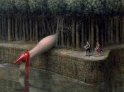 Enigmatic Dreamlike Paintings Mike Worrall