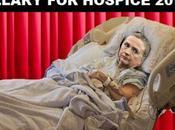Hillary Clinton Wears Hospital Gown Cape Fundraiser