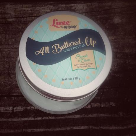 Luxe by Mr. Bubble All Buttered Up Body Butter