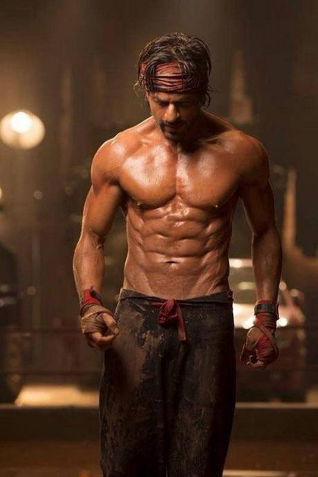 Shah Rukh Khan sexy body images