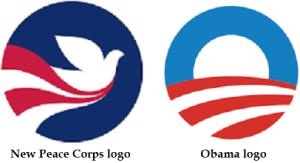 new Peace Corps logo