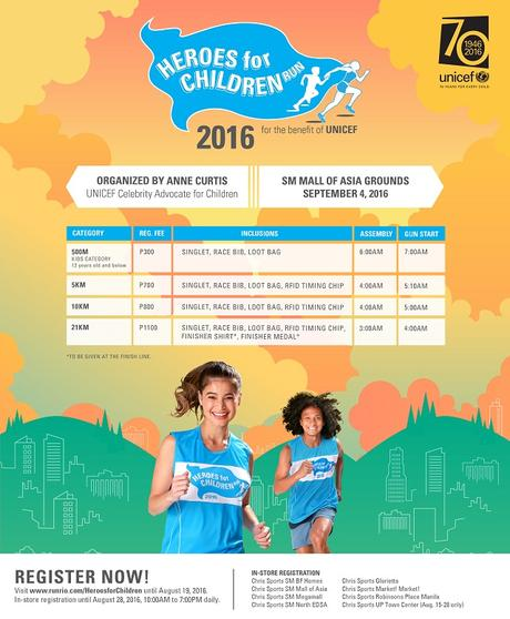 Heroes for Children Run 2016