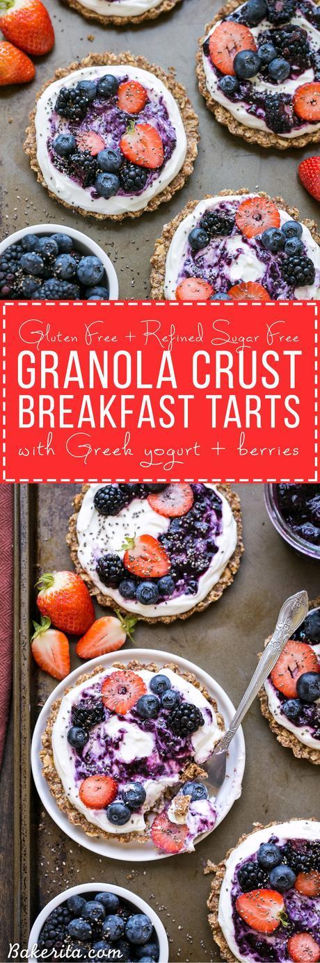 with granola crust gluten free protein granola gluten free vegan