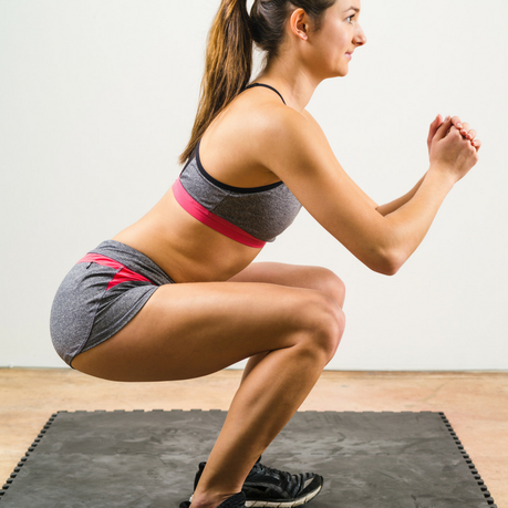 How to do bodyweight squats