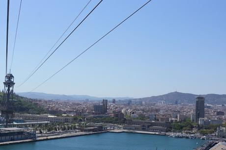 Barcelona Hello Freckles August Summer Travel Blogger City Break Spain Harbour Cable Car