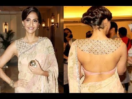 The Backless Blouse Designs are Revamping Traditional Saree Looks