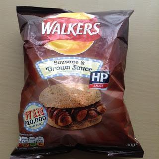 Walkers Sausage & HP Brown Sauce Crisps Review