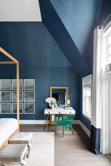 Beautiful homes in shades of blue