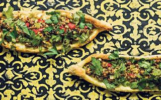 Turkish Pide Bread -Boat Pizza Wholewheat and Healthy