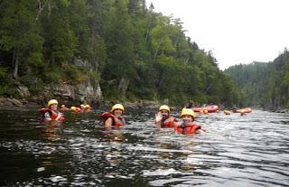 Canadian Adventures: Whitewater Rafting on the Métabetchouan River in Quebec
