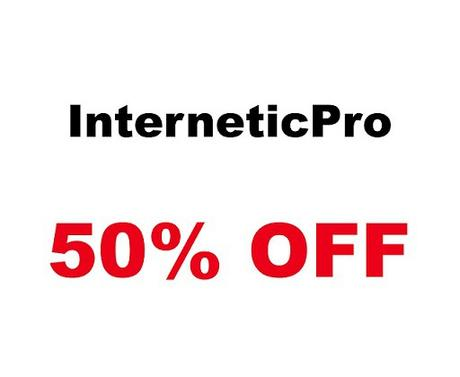 September Offer 50% Discount On InterneticPro
