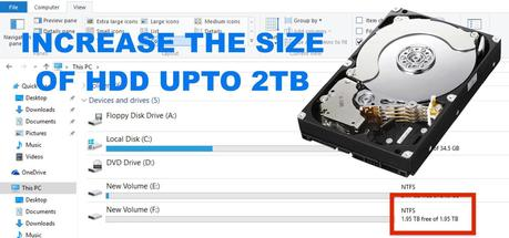 Increase-hard-disk-size