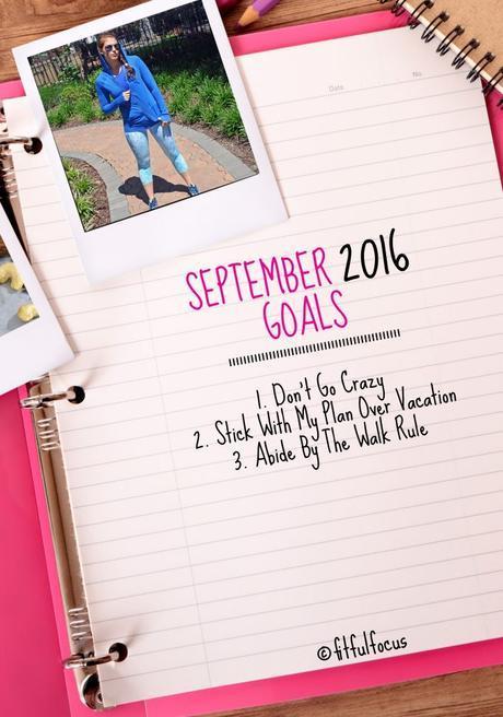 September 2016 Goals