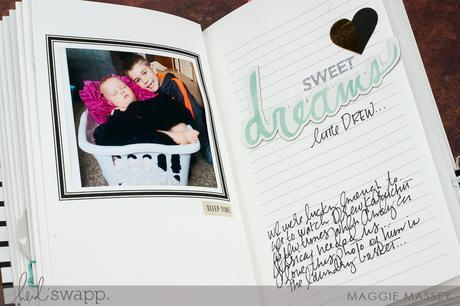 Memory Keeping in Real Time - Photo Journal | Maggie Massey for Heidi Swapp