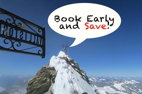 Reminder: Book Early and Save