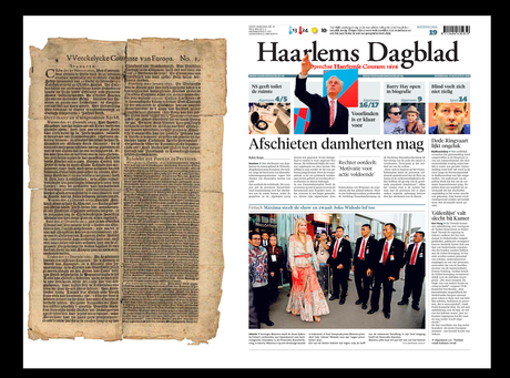 Meanwhile, in Holland, the oldest newspaper in the world gets rejuvenated