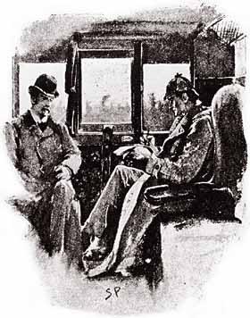 A Cartoon & Comic Book Tour of #London No.33: #Sherlock & Sidney Paget