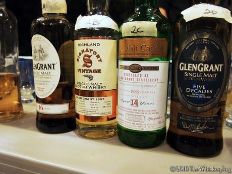 Malt Nuts - Gargantuan Glen Grant Tasting -4